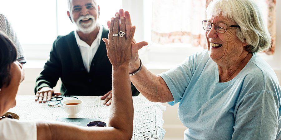 oskrba na domu - veselje starejših
